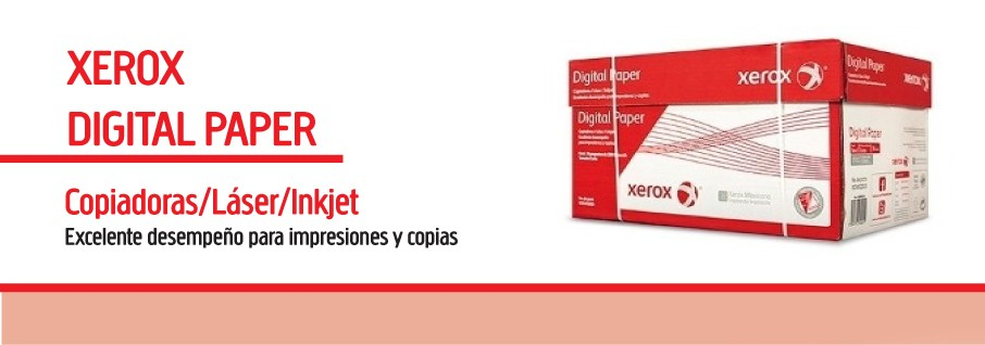 Papel Bond Carta XEROX ROJO